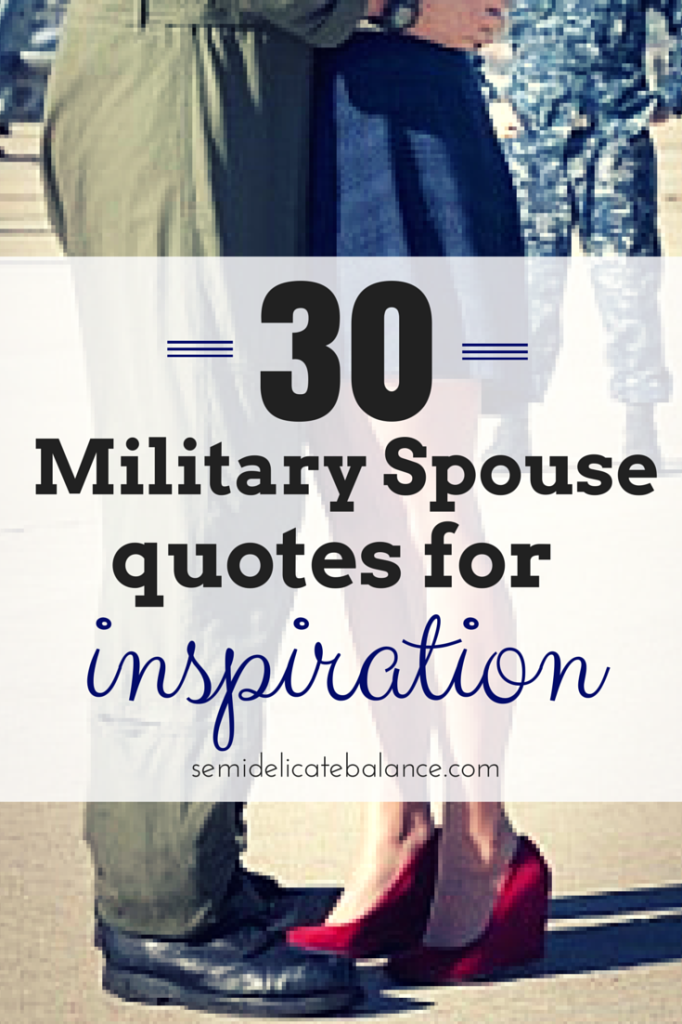 Military spouse quotes