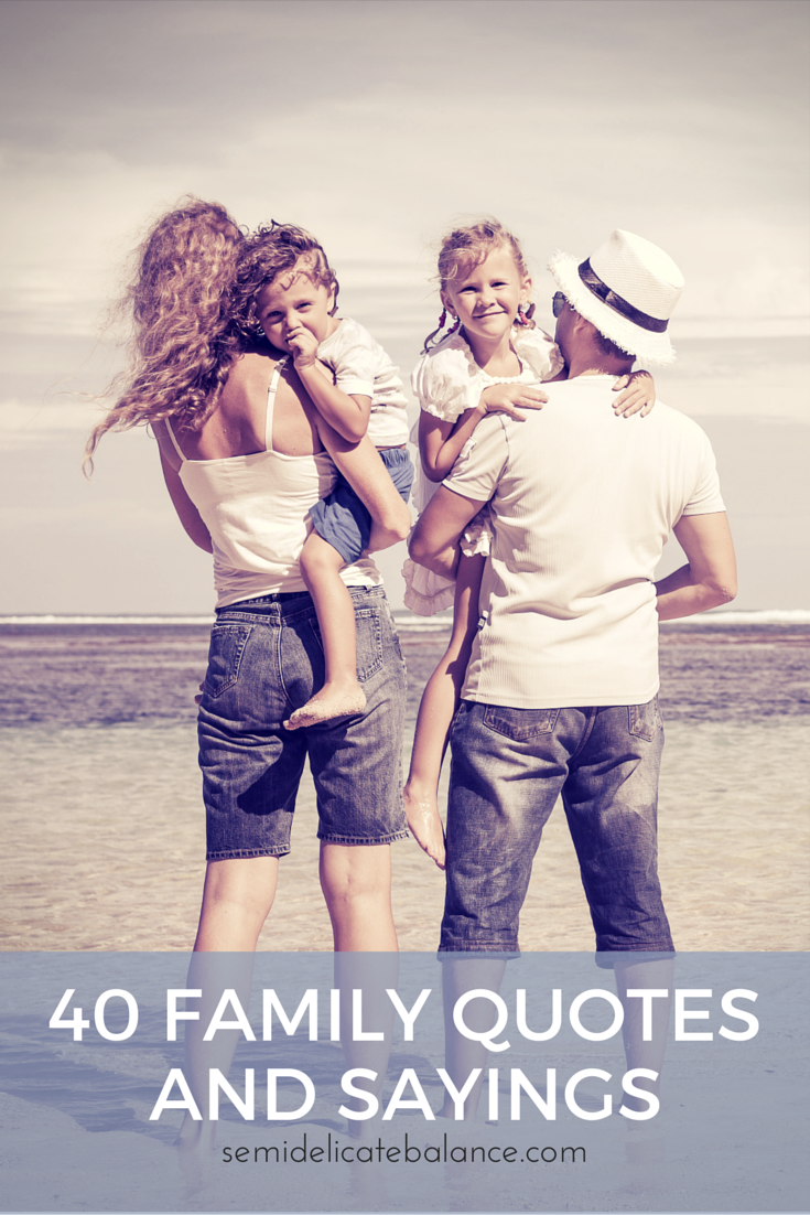 40 Family Quotes And Sayings Png