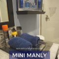 MINI MANLY BATHROOM MAKEOVER