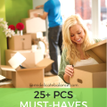 25+ PCS MUST HAVES for your new house