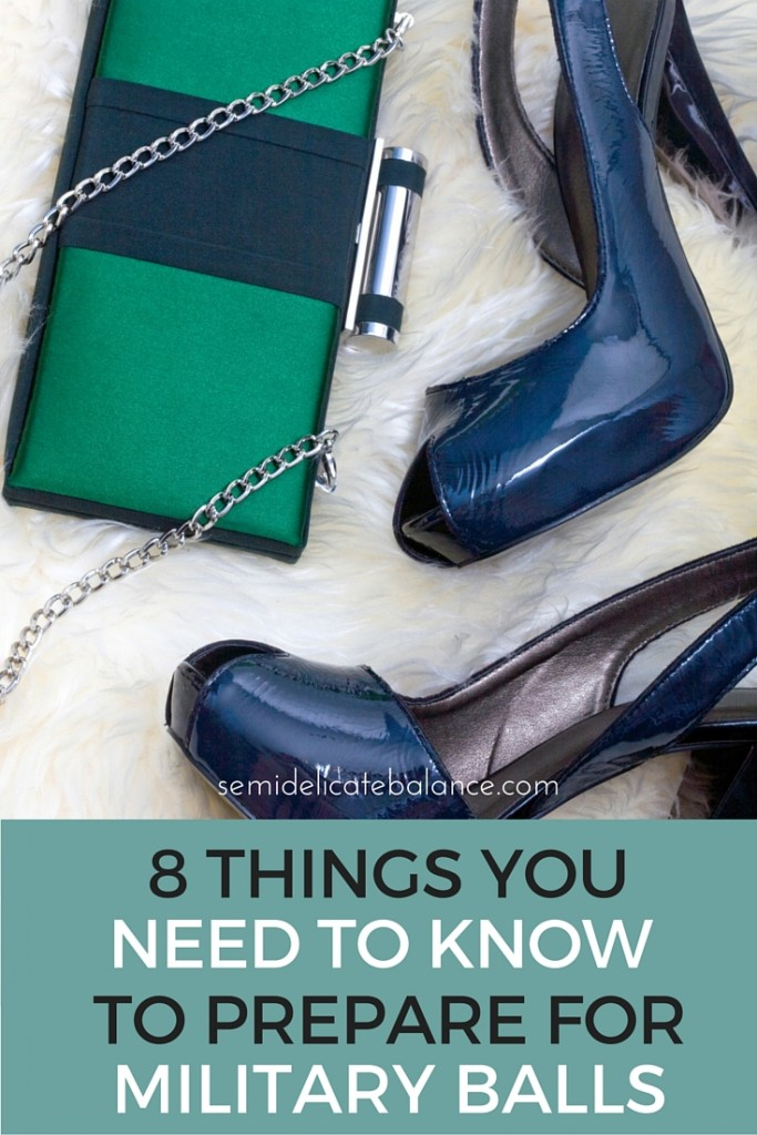 8 THINGS YOU need to know to prepare for military balls