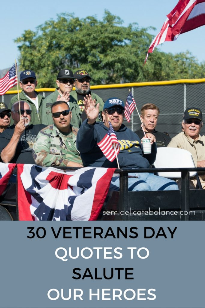 30 Veterans Day Quotes And Sayings To Salute Our Heroes