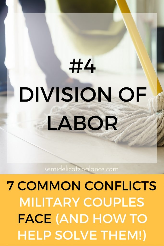 labor common conflict military couple
