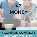 money conflict military couple