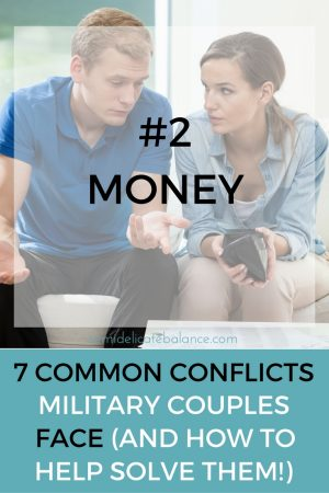 money conflict military couple
