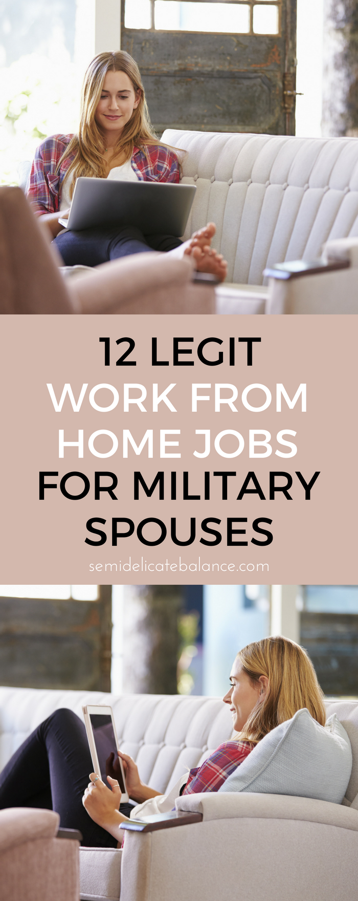 12 Legit Work From Home Jobs For Military Spouses