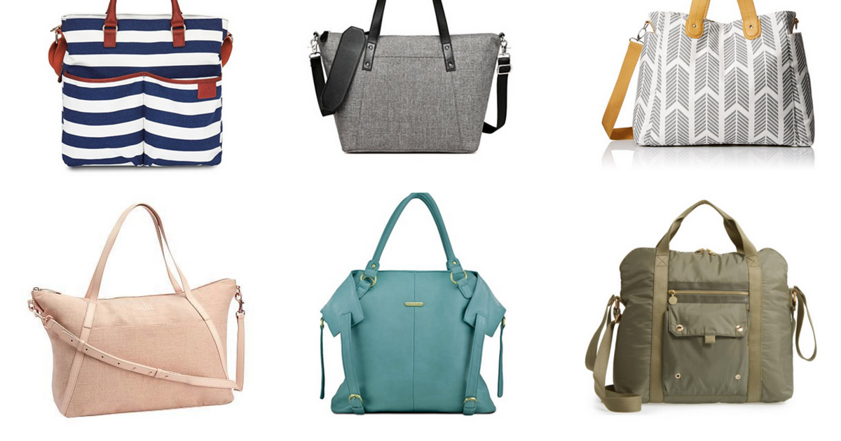 15 Stylish and Practical Diaper Bags (That Don't Look Like a Diaper Bag!)