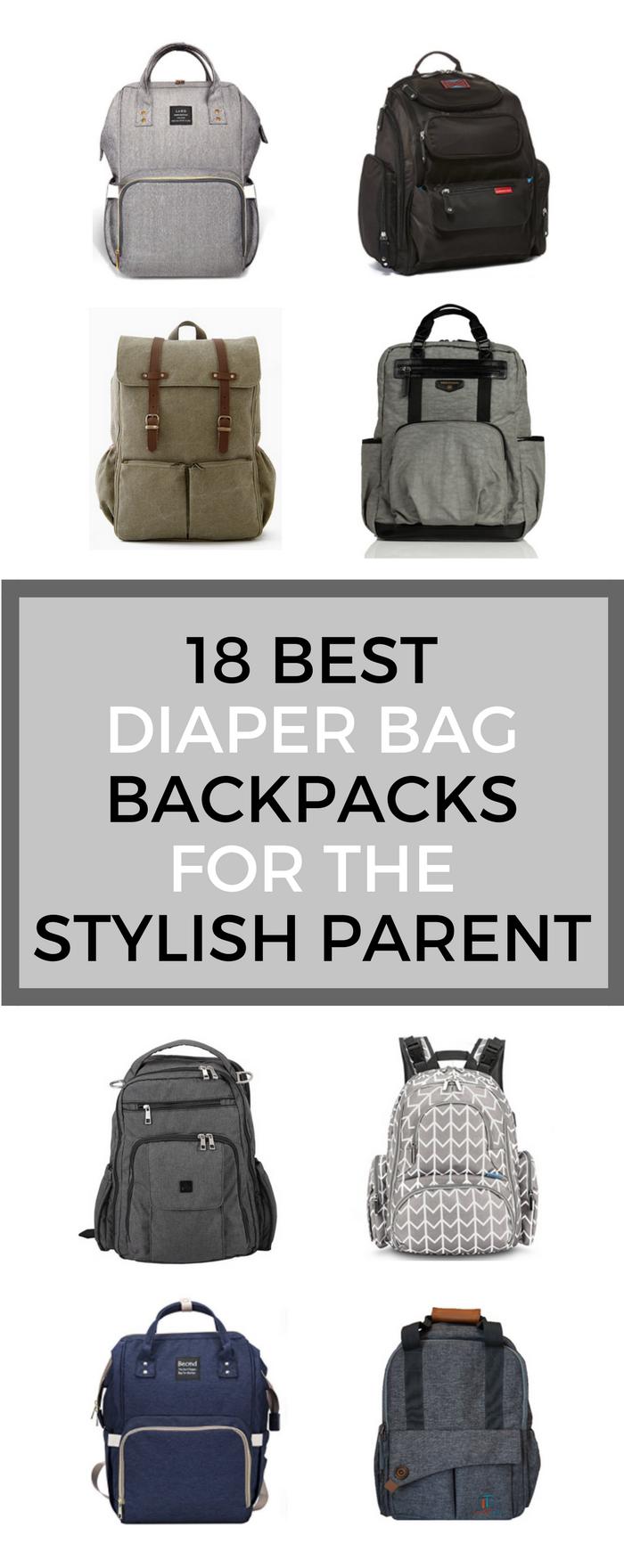 11 best diaper bag backpacks for the stylish parent. Black Bedroom Furniture Sets. Home Design Ideas