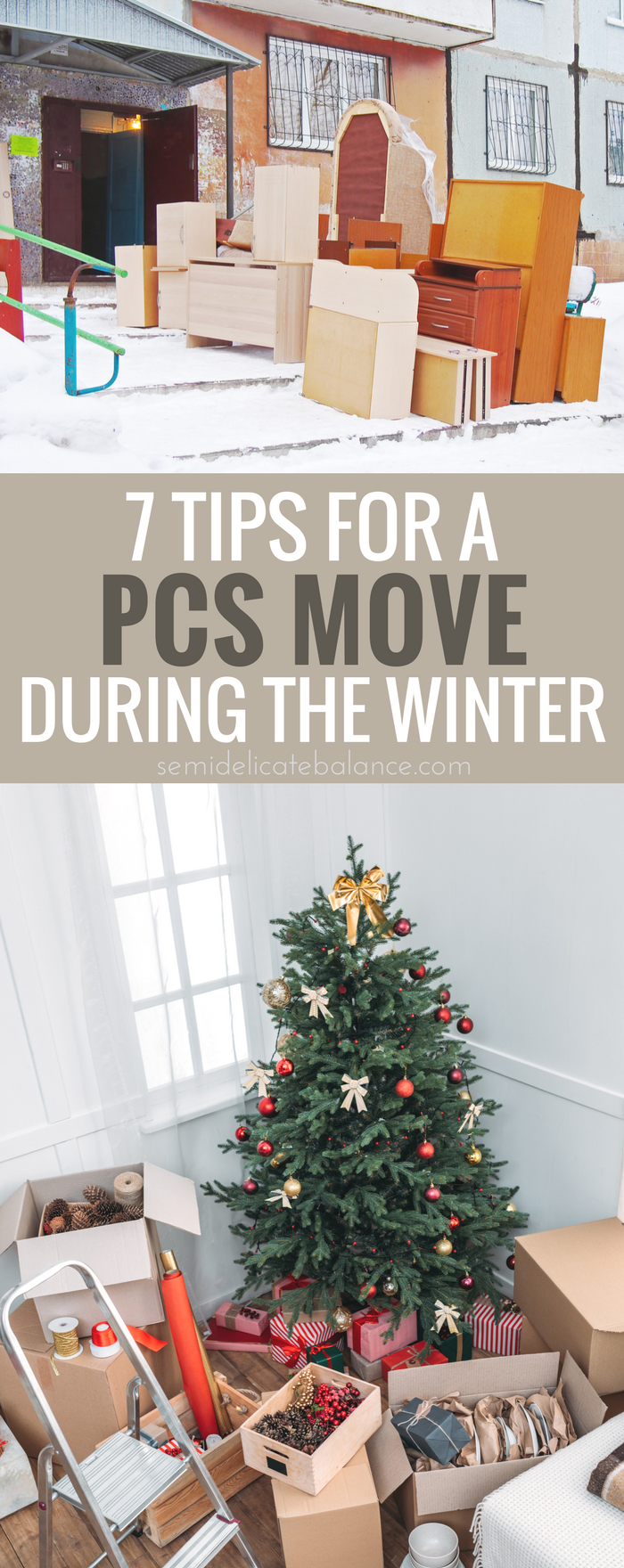 Tips for a PCS Move In The Winter, Military, Holidays