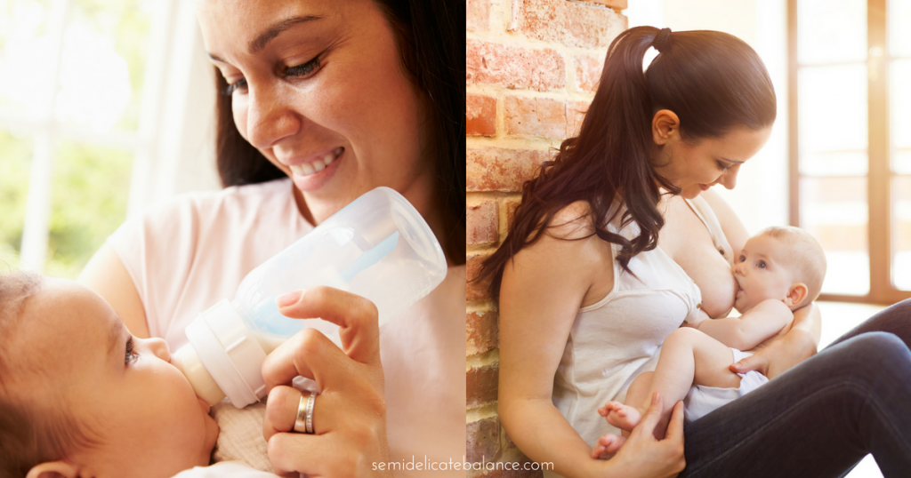 How I Got My Baby to Go From Bottle Back to Breastfed