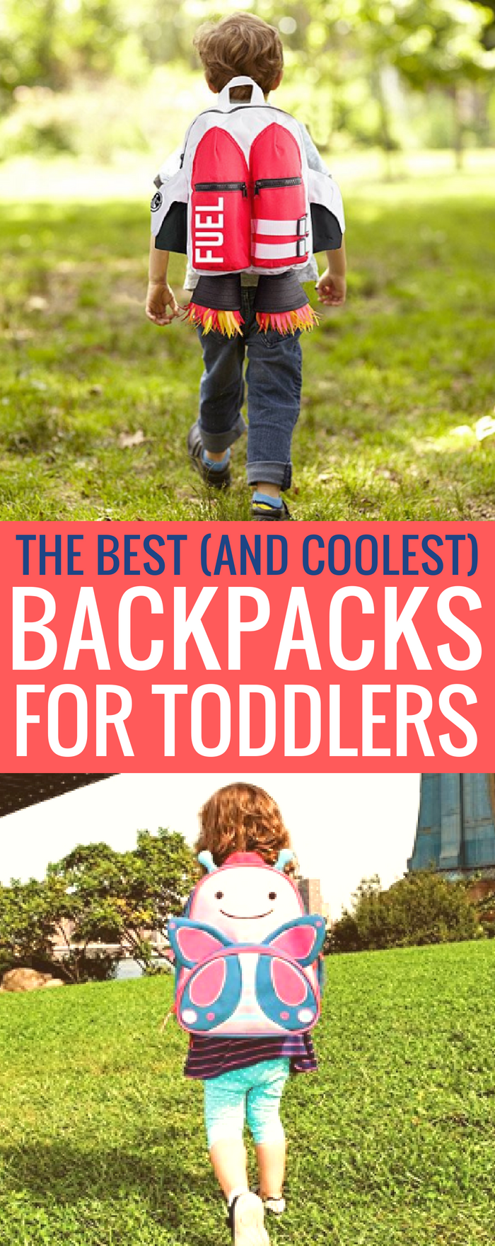 The Best Backpacks For Toddlers To Get Them Ready for School or travel #toddler #backpacks #familytravel #kindergarten #toddlers