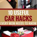 10 Brilliant Car Hacks Every Mom Needs To Know #carhacks #momtips #organization