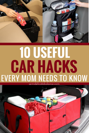 10 Brilliant Car Hacks Every Mom Needs To Know #carhacks #momtips #organization