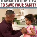 5 Back to School Organization Tips that Will Save your Sanity #schoolhacks #backtoschool #organization