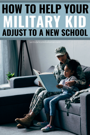 How to Help your Military Kid Adjust to a New School #military #militarychild #militarylife #pcs