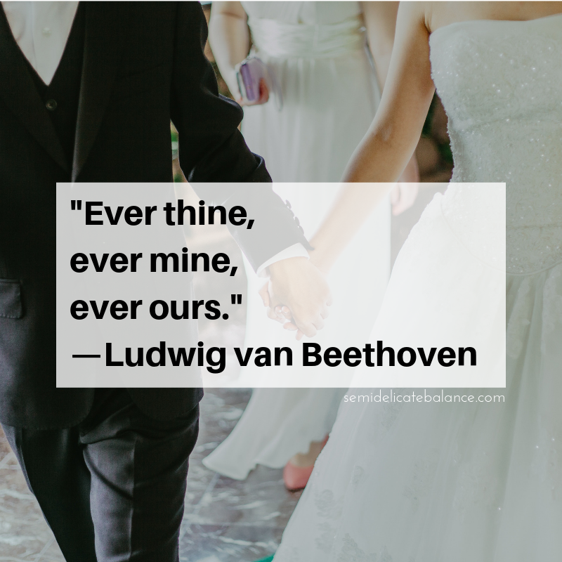 Inspiring Wedding Quotes And Sayings To Help With Your Vows