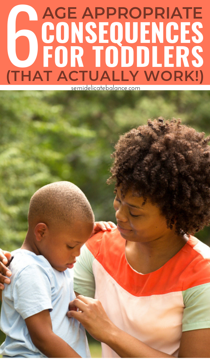 6 Age Appropriate Consequences for Toddlers That Actually Work, parenting tips for young kids, #parenting #momlife #toddler #toddlerlife #motherhood