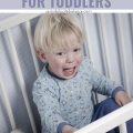 Effective strategies and tips to reduce and prevent bedtime tantrums for toddlers #toddler #parenting #sleeptips #momlife #toddlerlife #motherhood