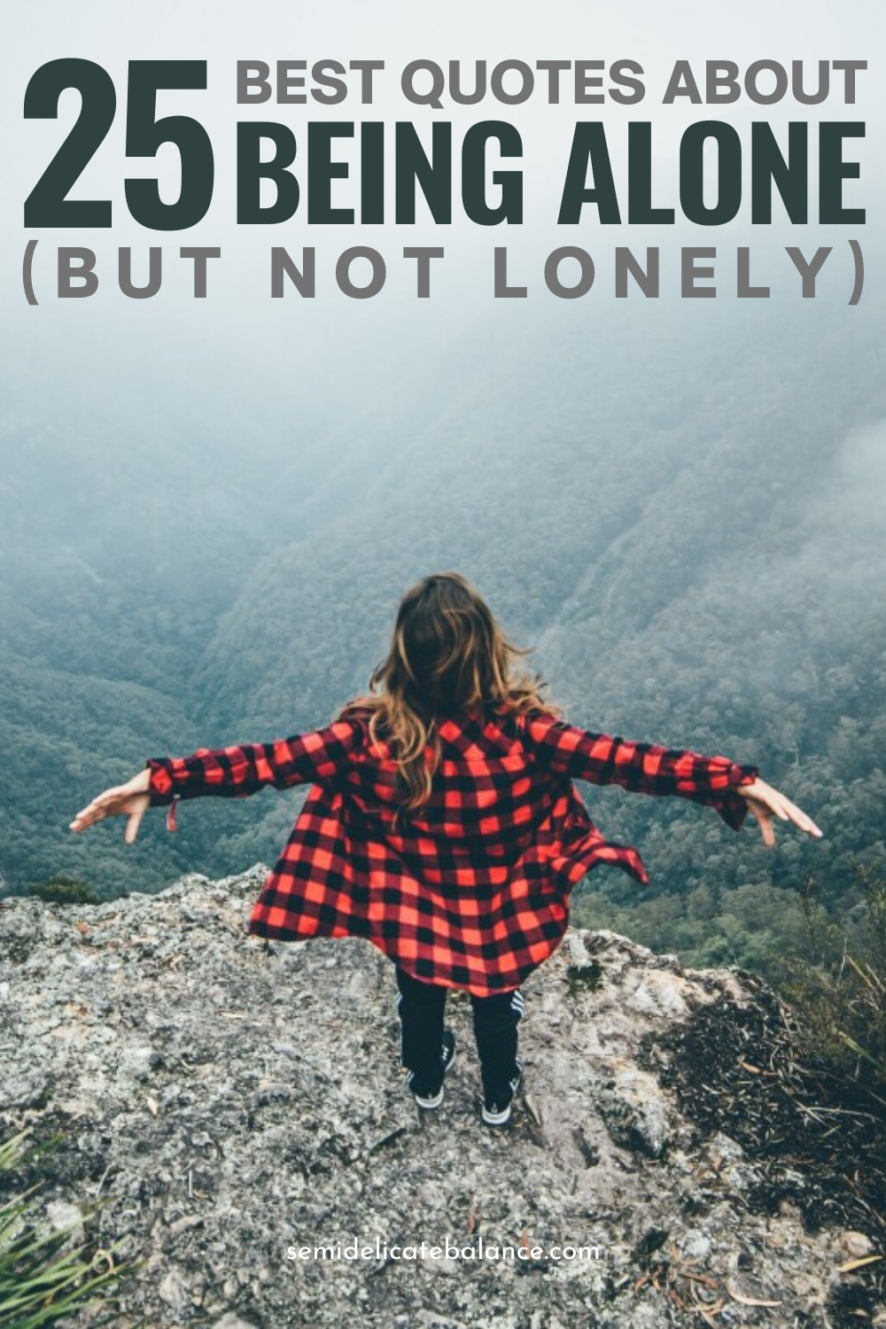 Best Quotes About Being Alone (But Not Lonely) #quote #quotes #beingalone #solitude #qotd #metime