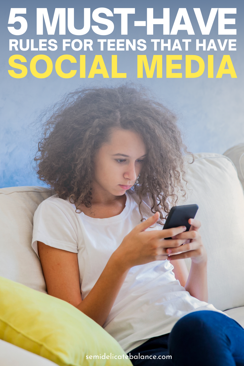 5 Must-Have Rules When Your Children Have Their Own Social Media Accounts